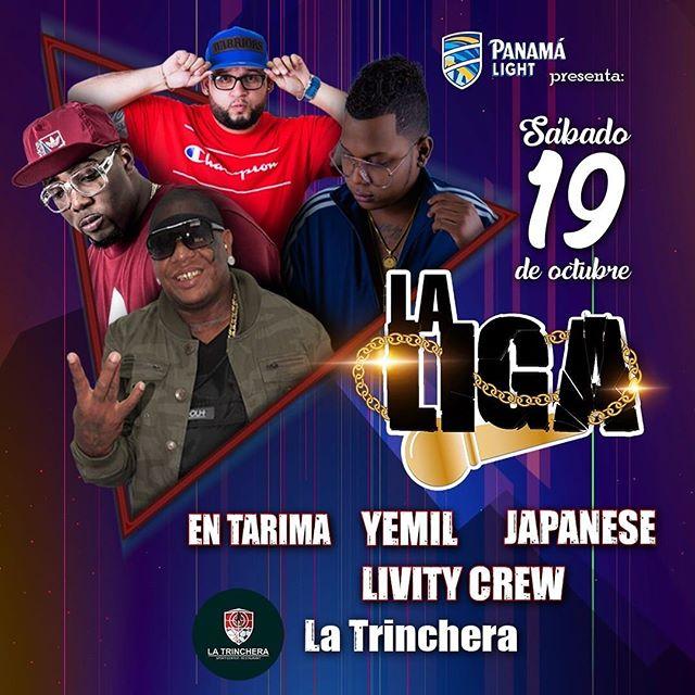 Photo of Panama Light y Panamá Music presentan 'La Liga'