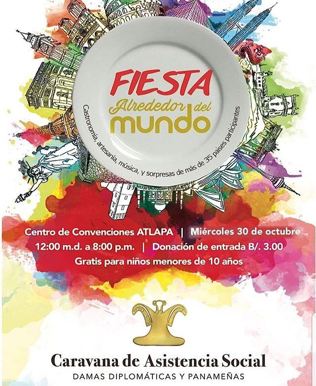 Photo of Fiesta alrededor del mundo en el Centro de Convenciones Atlapa