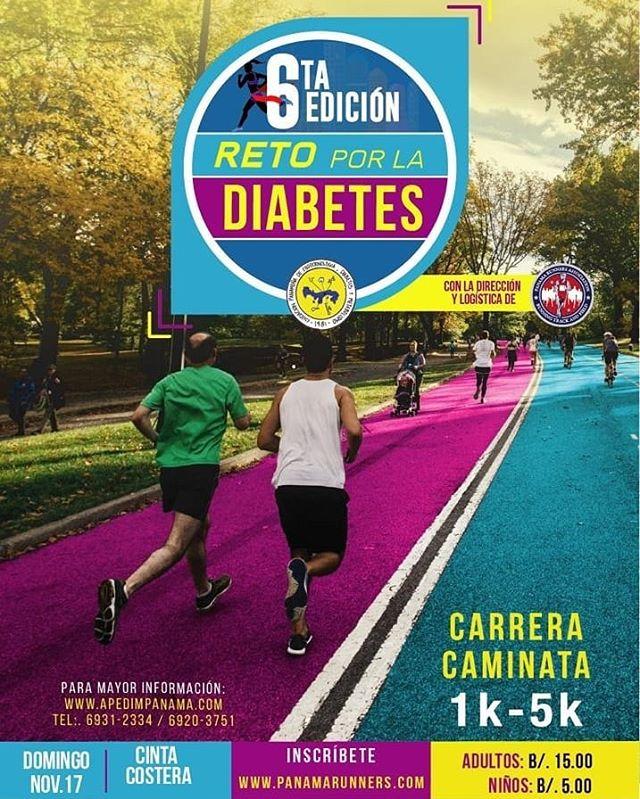 Photo of Panamarunner presenta 'La 6ta. Edición Reto Por la Diabetes'