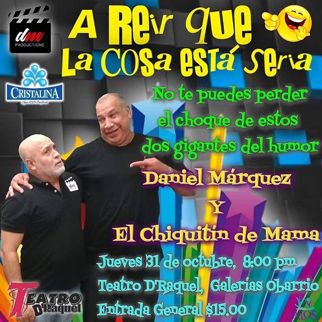 Photo of Teatro D´Raquel presenta el show de 'A reír que la cosa está seria'