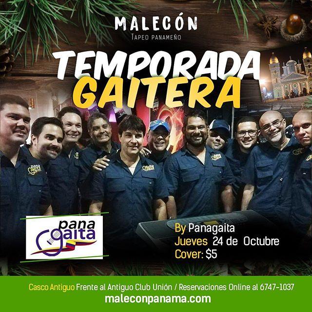 Photo of Malecón Panamá presenta 'Temporada Gaitera'