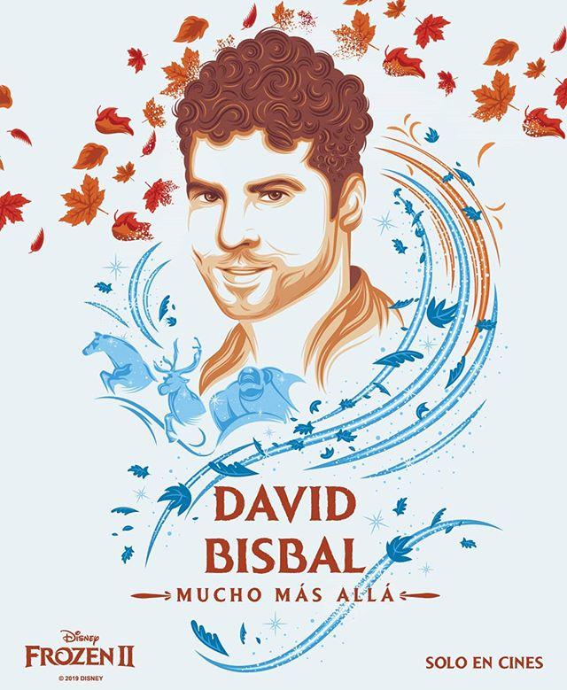 Photo of David Bisbal interpretará 'Mucho Más Allá' canción de los créditos de la película Frozen 2