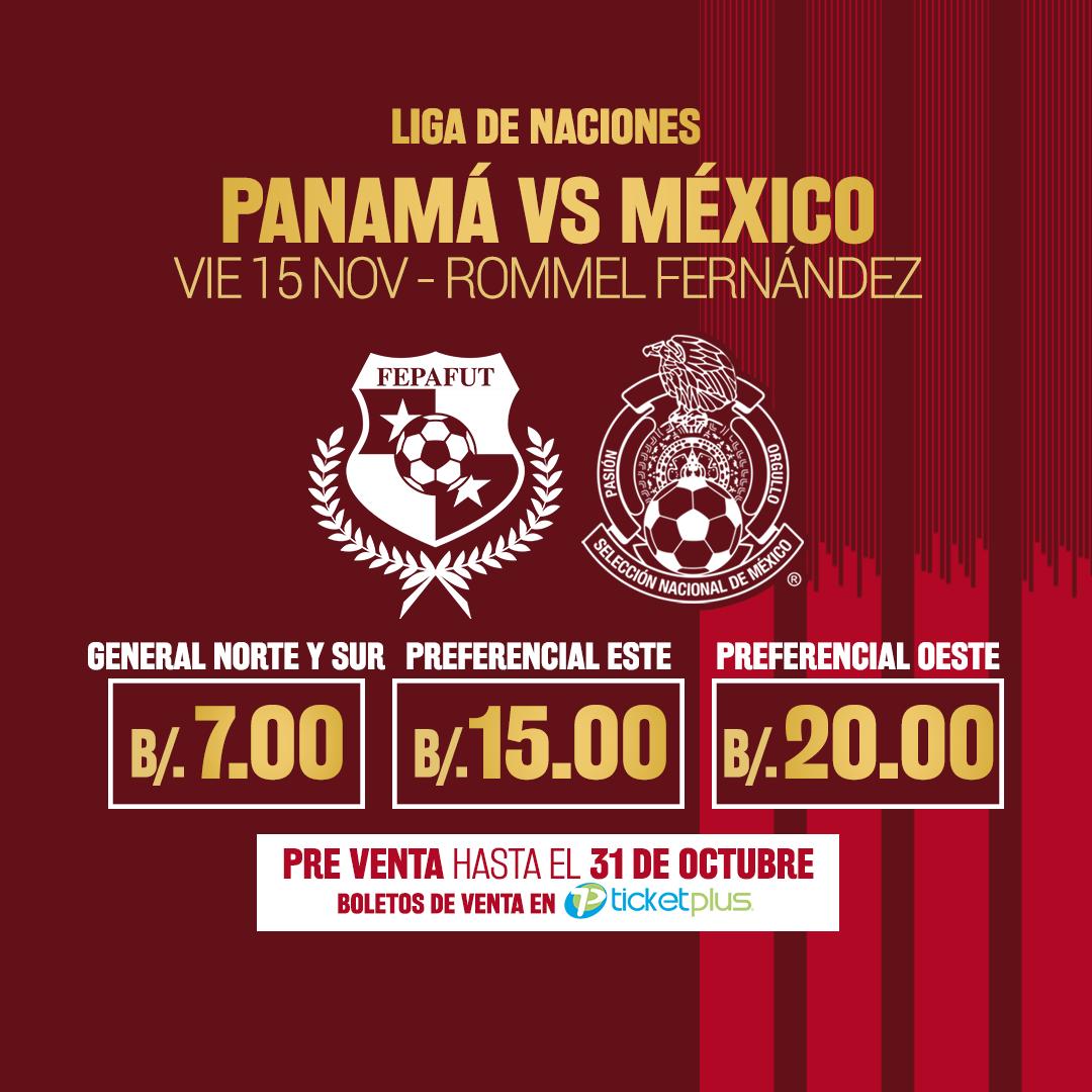 Photo of A la venta los boletos para el juego de Panamá Vs México en el Estadio Rommel Fernández