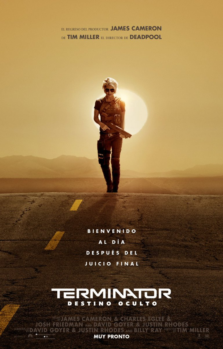 Photo of En la víspera de su estreno Universal lanza nuevo trailer de Terminator: Destino Oculto