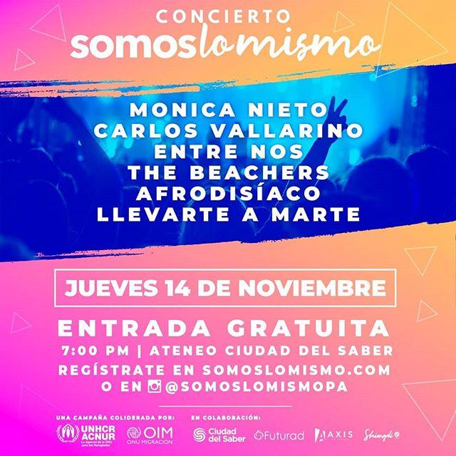 Photo of Concierto 'Somos lo Mismo' en el Ateneo de Ciudad del Saber