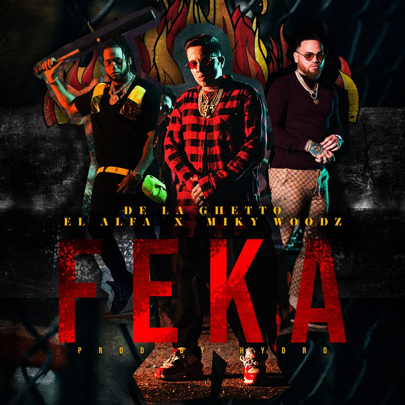 Photo of De La Ghetto, El Alfa y Miky Woodz lanzan 'FEKA'