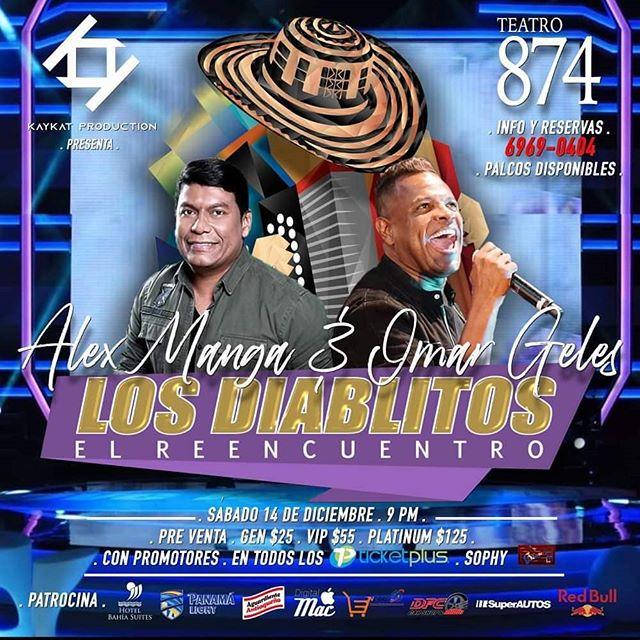 Photo of Teatro 874 presenta para los amantes del vallenato 'Los Diablitos el Reencuentro' el 14 de diciembre