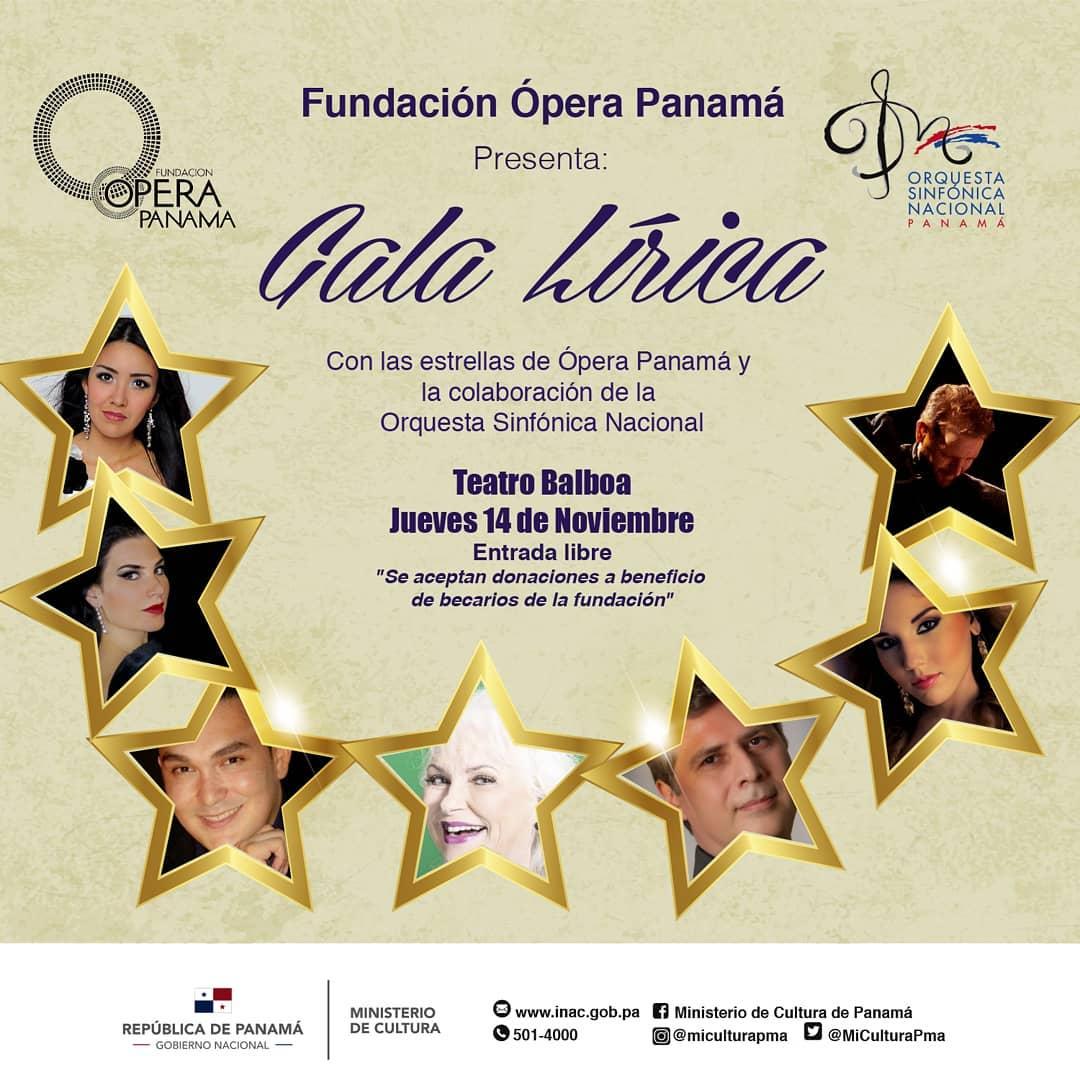Photo of Fundación Ópera Panamá presenta una ¡Noche musical!