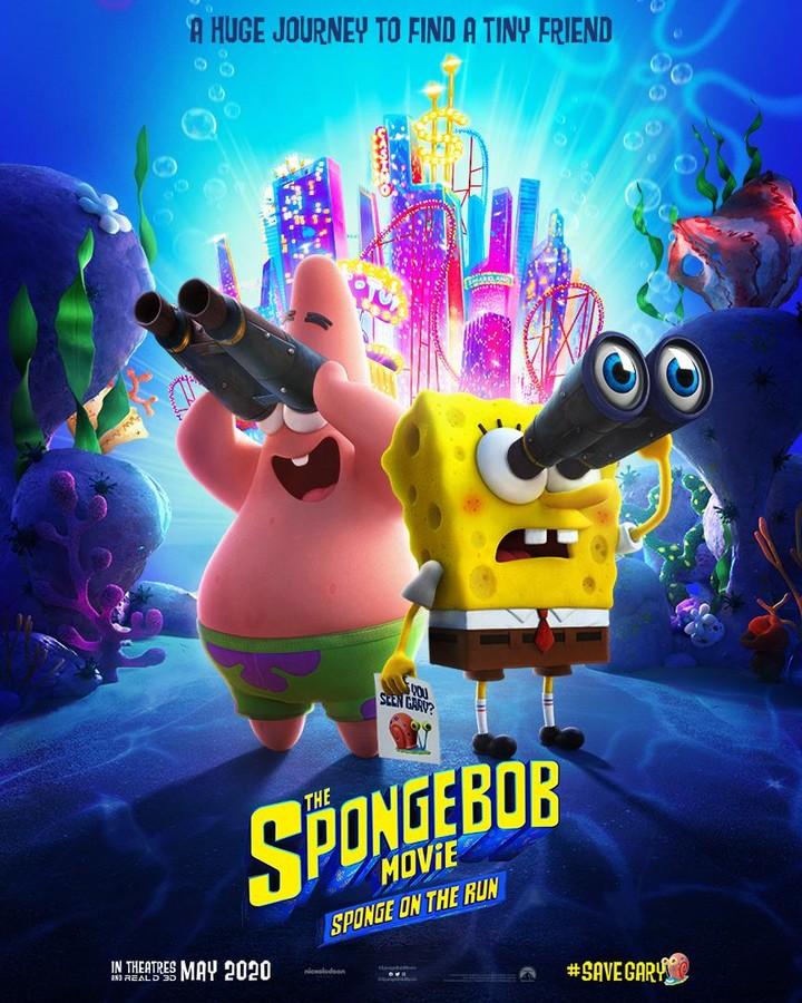 Photo of Se estrena trailer y poster de la película 'Bob Esponja'