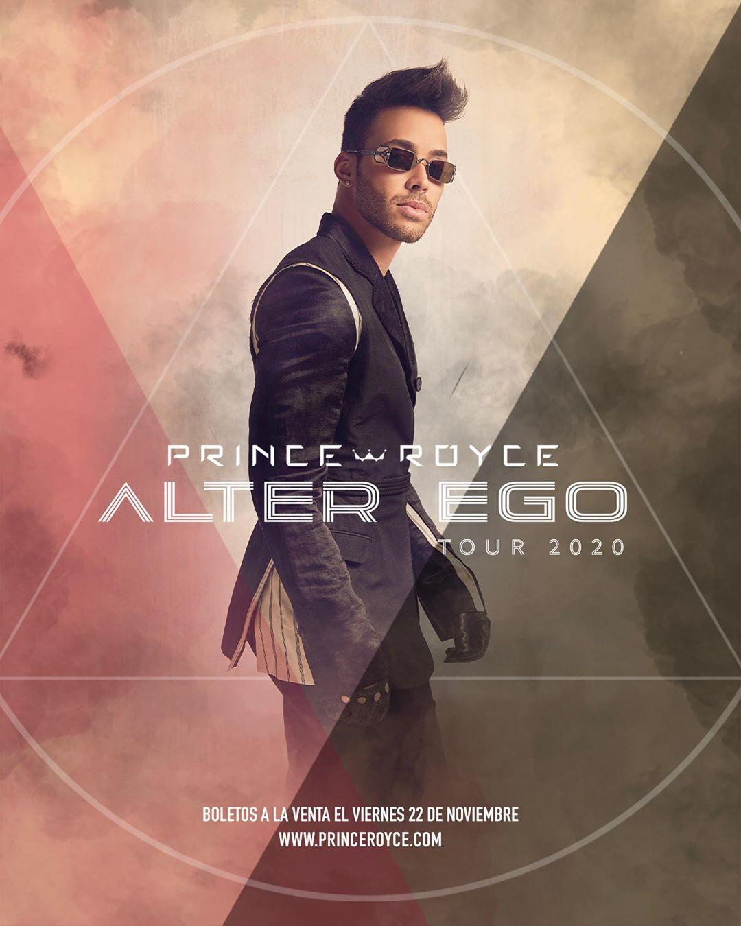 Photo of Prince Royce anuncia su gira «Alter Ego» para el 2020