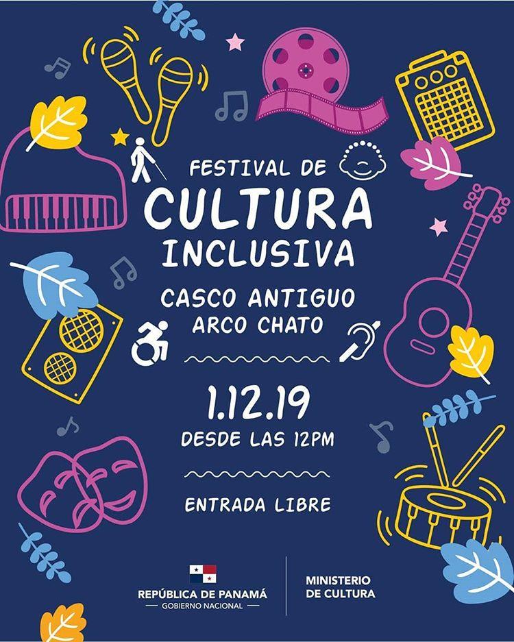 Photo of El Ministerio de Cultura, les invita al primer festival de cultura inclusiva