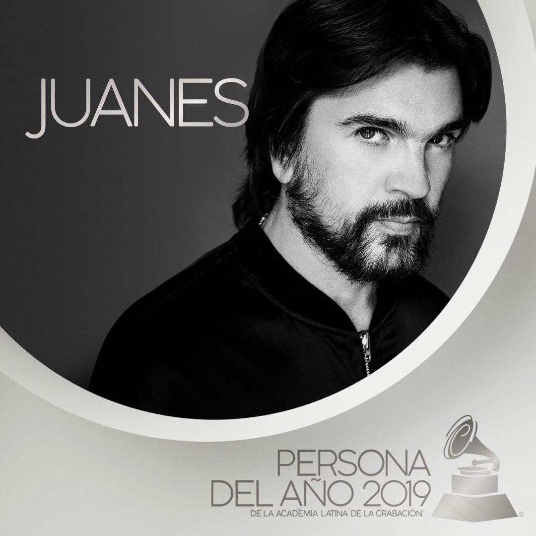 Photo of Juanes es la Persona del Año 2019 de los Latin Grammys