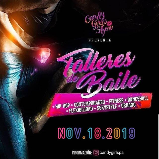 Photo of Candy Girls Show presentan 'Talleres de Baile' este 18 de noviembre