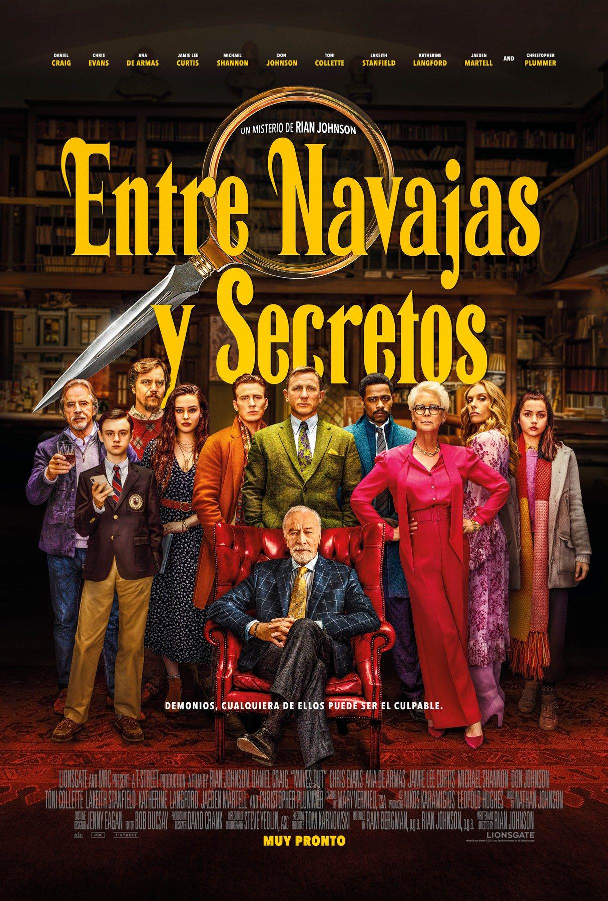 Photo of Este 28 de noviembre en cines 'Entre navajas y secretos'