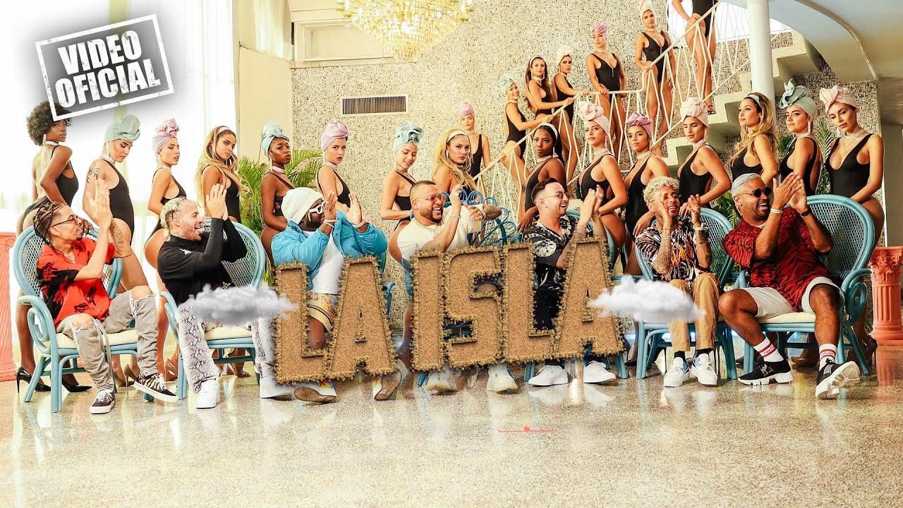 """Photo of """"La Isla"""", es el nuevo sencillo de Dimelo Flow con Sech, Dalex, Justin Quiles, La Exce, Feid y Zion"""