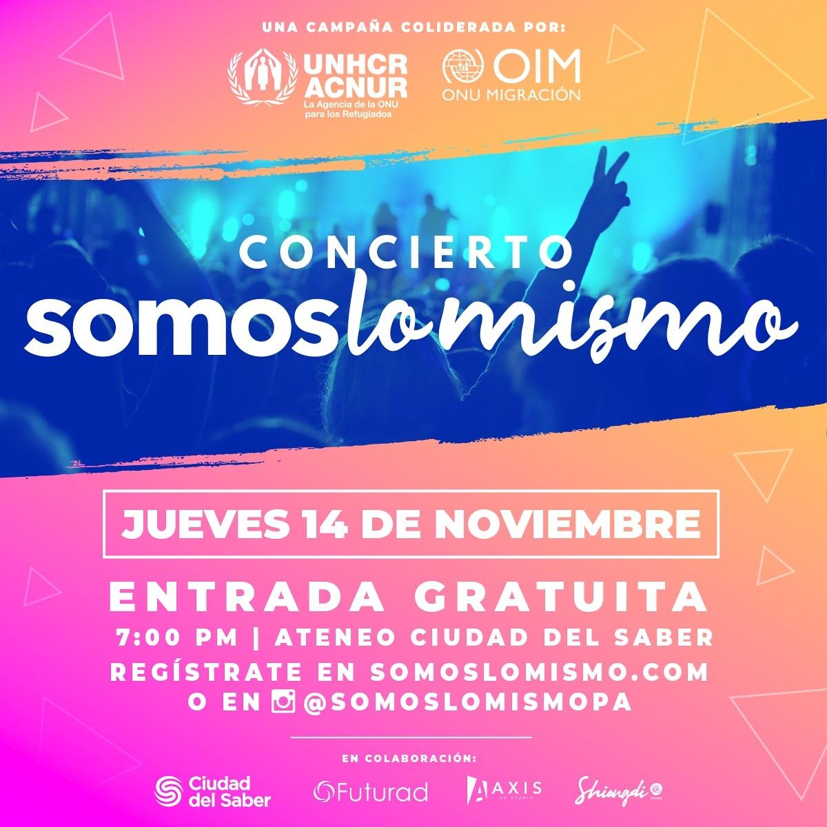 """Photo of Somos Lo Mismo Lanza Concierto De Integración """"La música une a las culturas"""""""