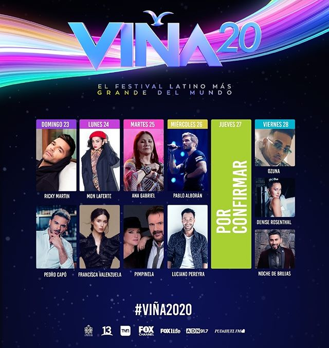 Photo of Anuncian los artistas que estarán en Viña del Mar 2020