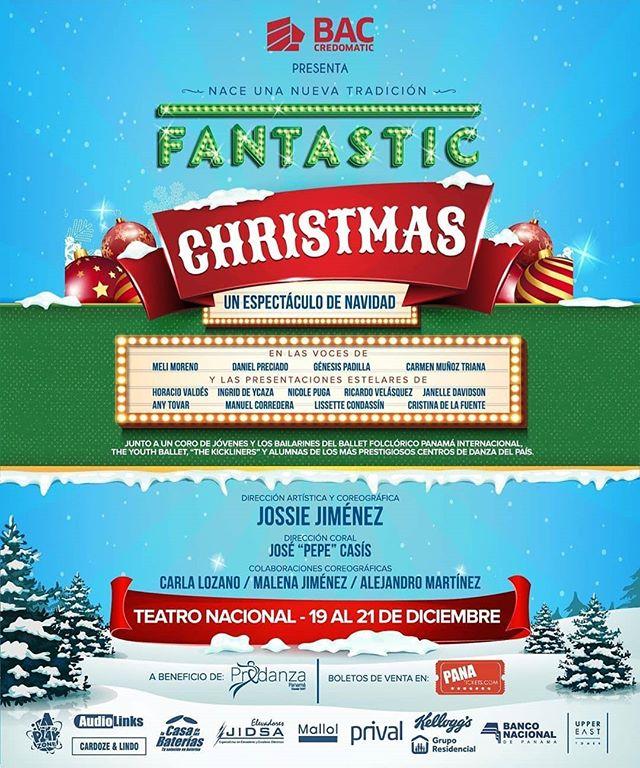 Photo of «Fantastic Christmas» un espectáculo de navidad en el Teatro Nacional