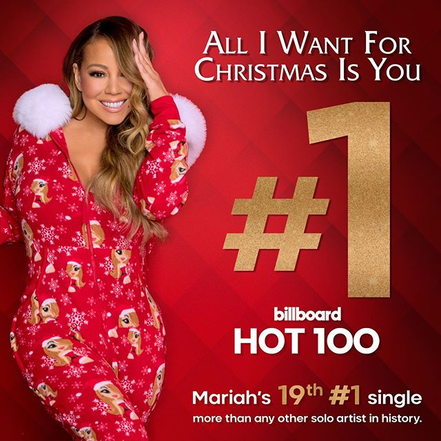 """Photo of Mariah Carey hace re -estreno de """"All I Want for Christmas Is You"""""""