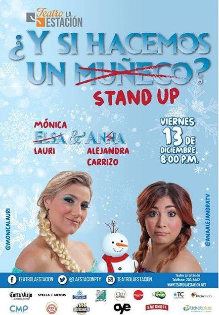 Photo of ¡Esta Noche! Teatro la Estación presenta «Y si Hacemos un Stand Up?»