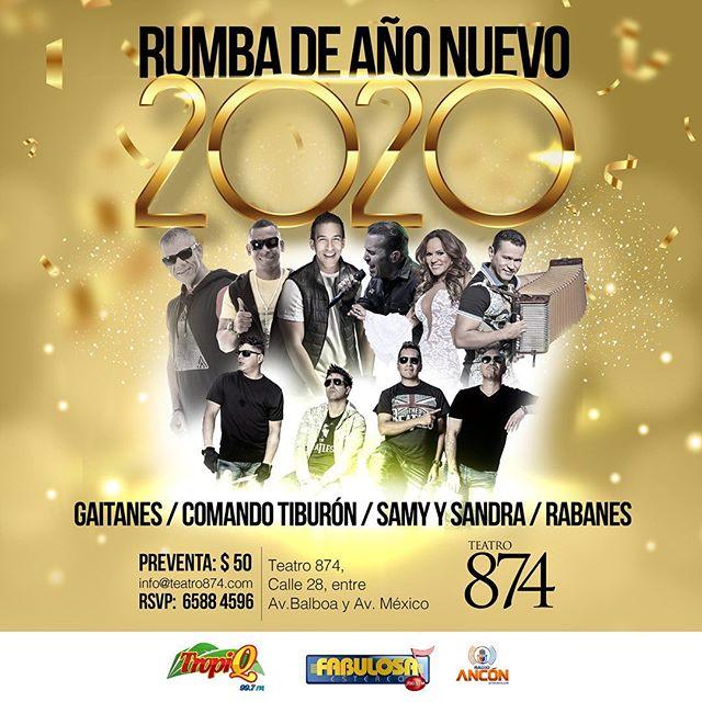 Photo of Rumba de Año Nuevo 2020 en Teatro 874