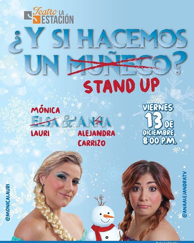 Photo of Teatro la Estación presenta «Y si Hacemos un Stand Up?»