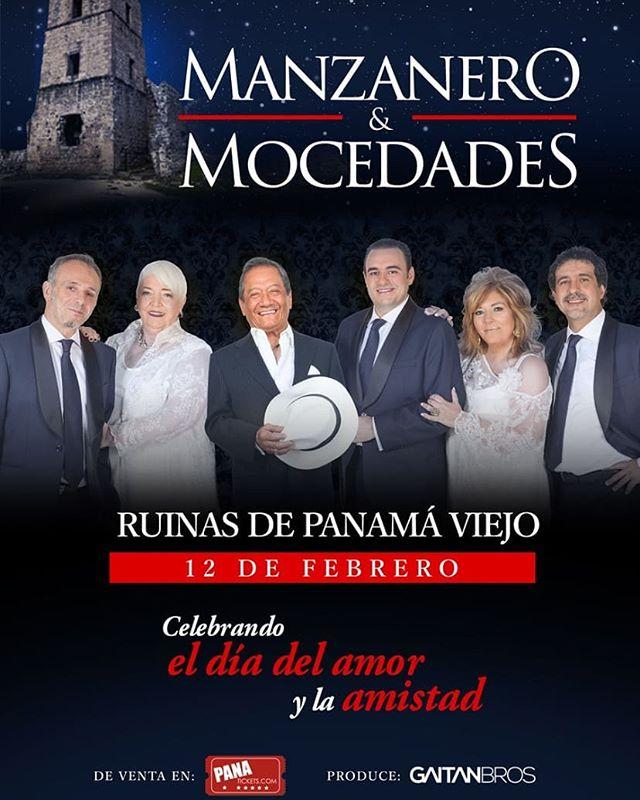 Photo of Panamá el próximo año recibirá a «Manzanero y Mocedades» en un concierto para celebrar el mes del amor y la amistad