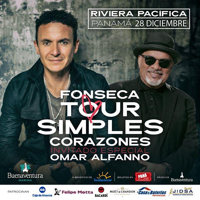 Photo of El Maestro Omar Alfanno es el invitado especial al concierto de Fonseca en Panamá