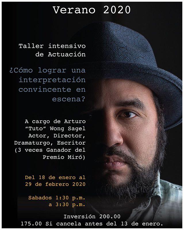 Photo of Taller Intensivo de actuación en Teatro la Estación