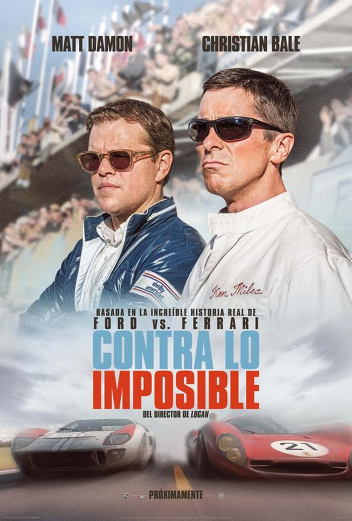 Photo of Estreno en cines de 'Contra lo imposible' el film protagonizado por Matt Damon y Christian Bale