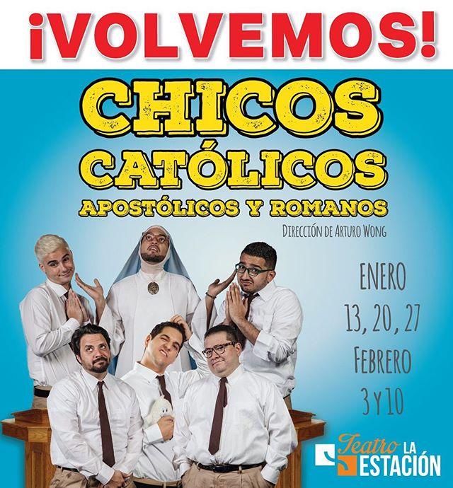Photo of ¡Nueva Función! de la obra «Chicos Católicos, Apostólicos y Romanos»