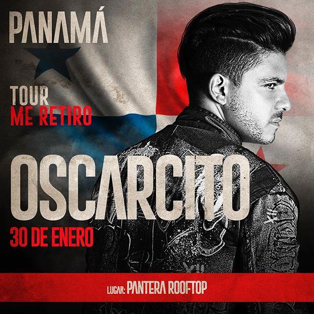 Photo of Oscarcito estará en concierto en Panamá este 30 de enero
