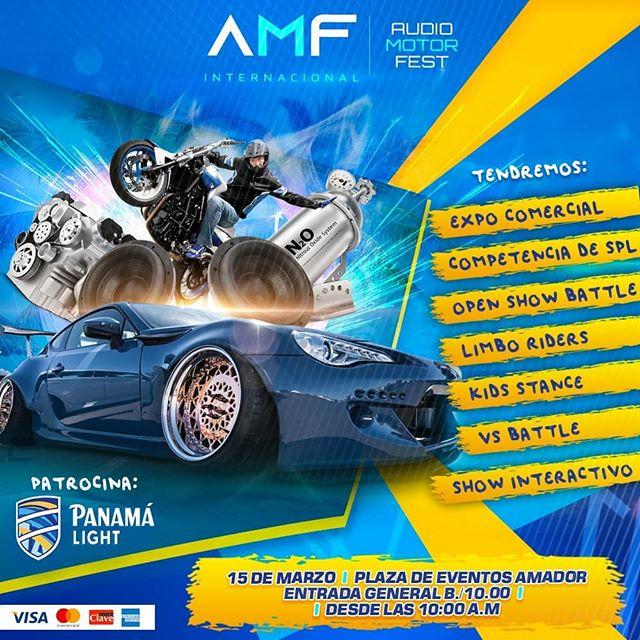 Photo of Panamá presenta este 2020 'Audio Motor Fest'