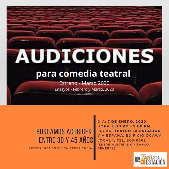 Photo of ¡Audiciones! en Teatro la Estación