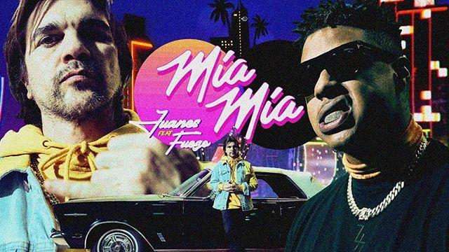 Photo of Juanes lanza videoclip de»Mía mía» junto a Fuego