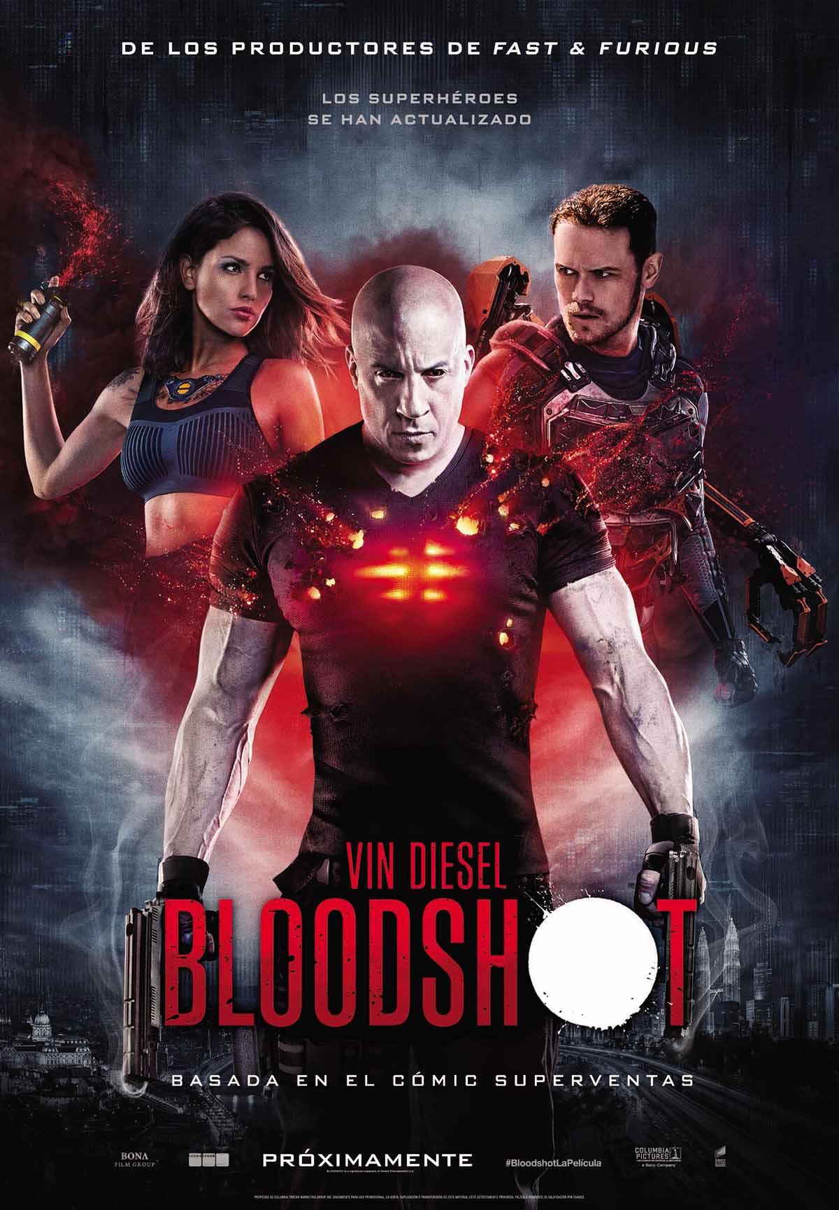 Photo of ¡Atención fanáticos del cine! nuevo póster oficial de 'Bloodshot' con Vin Diesel y Eiza González