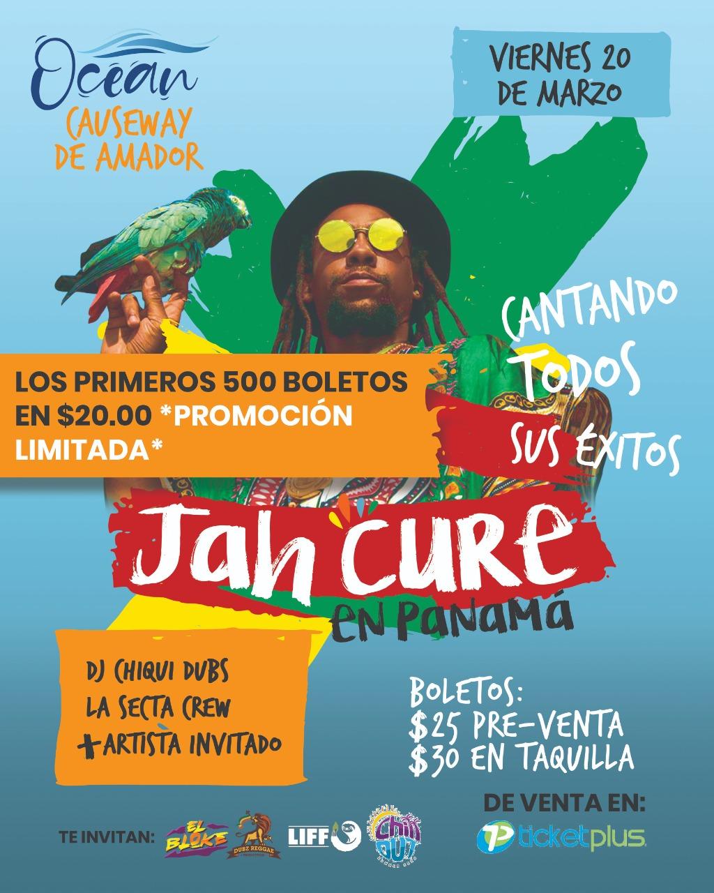 Photo of Concierto de Jah Cure en Panamá
