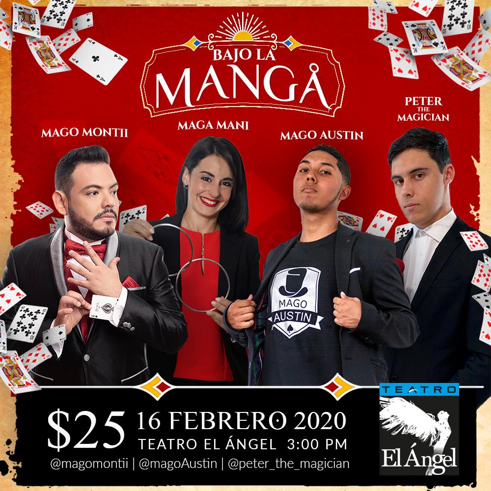 Photo of Teatro el Ángel los invita a «Bajo La Manga»