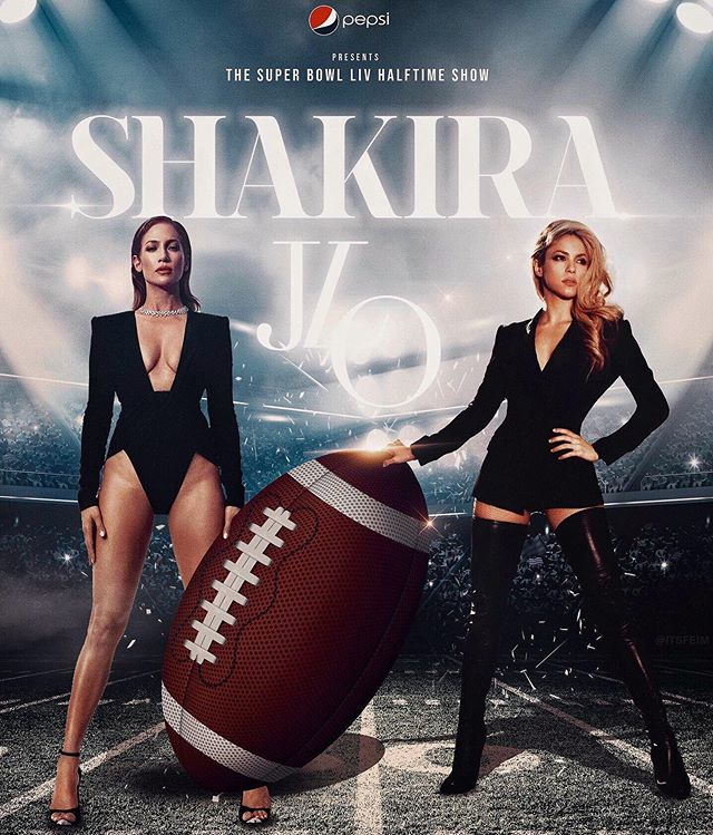 Photo of Se filtró el supuesto setlist de JLo y Shakira para el show del Super Bowl LIV