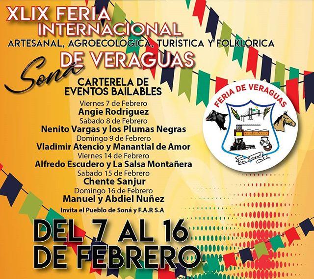 Photo of ¡Ya tiene fecha! La Feria Internacional de Veraguas 2020