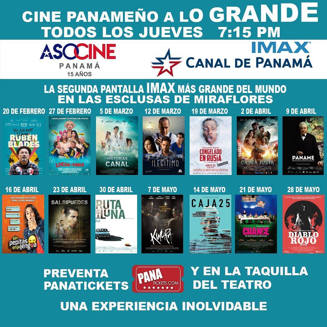 Photo of Cine Panameño a lo grande, todos lo jueves en 'IMAX Canal de Panamá'