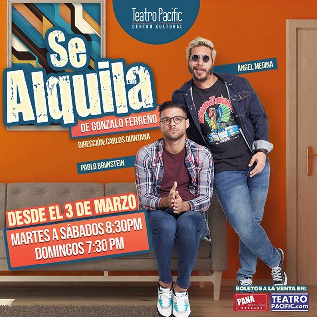 Photo of Teatro Pacific estrena «Se Alquila» de Gonzalo Ferreño