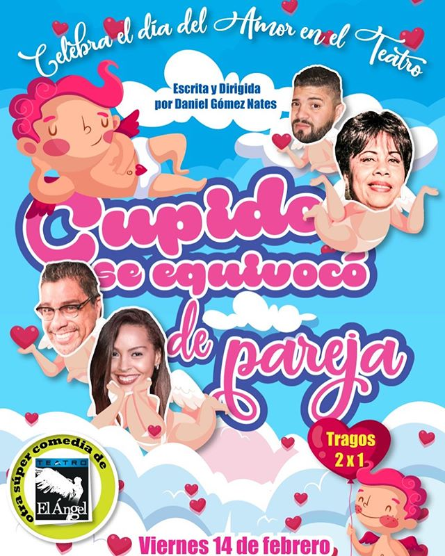 Photo of Este fin de semana en Teatro el Ángel disfruta de «Cupido se Equivocó de Pareja»
