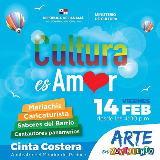 Photo of 'Cultura de Amor' este viernes 14 de febrero en Cinta Costera