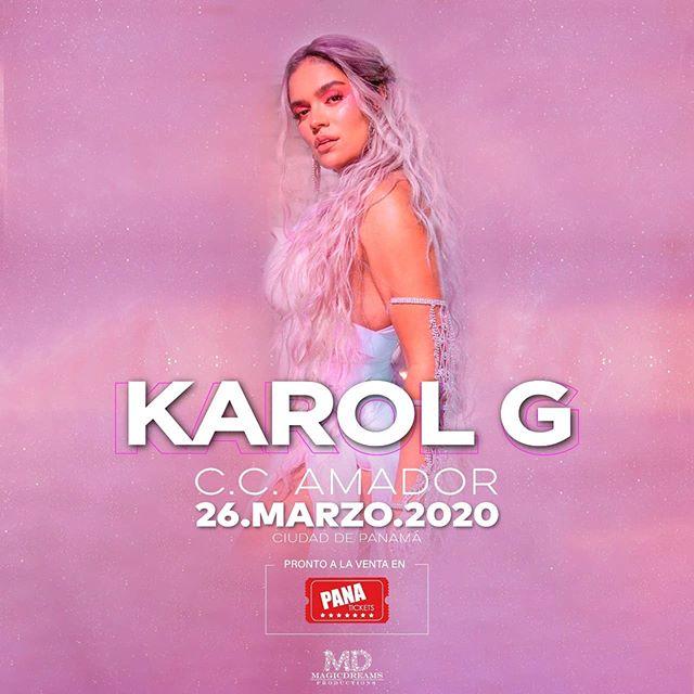 Photo of Karol G estará en concierto en Panamá el 26 de marzo