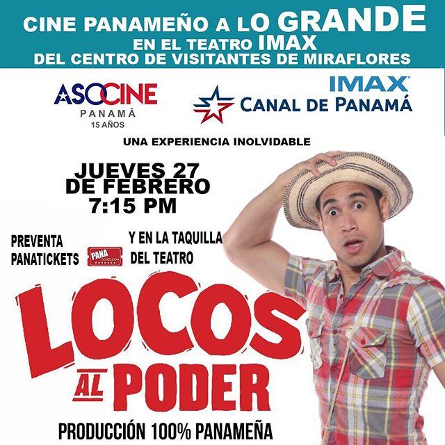 Photo of «Locos al Poder» este 27 de febrero en el Teatro IMAX