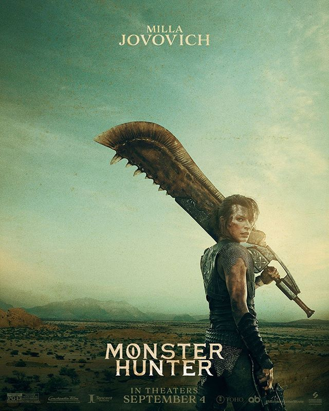 Photo of Sony Pictures lanzo los nuevos pósters de la película de Monster Hunter