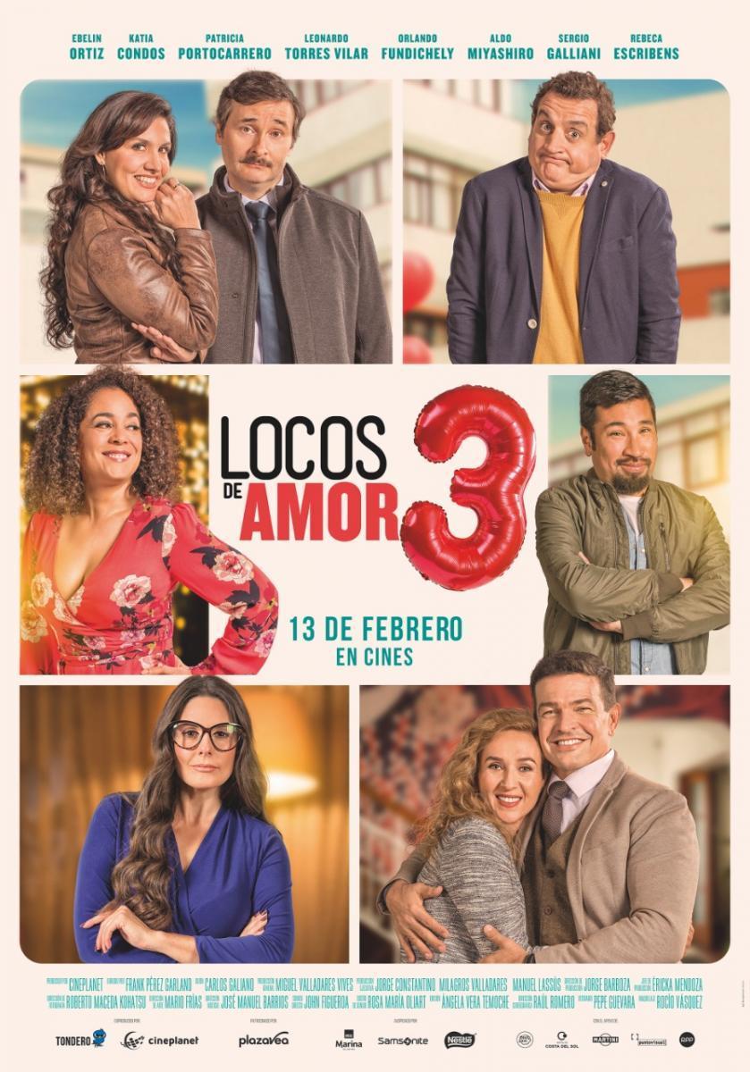 """Photo of """"Locos de Amor 3"""" Disponible en los cines de Panamá"""
