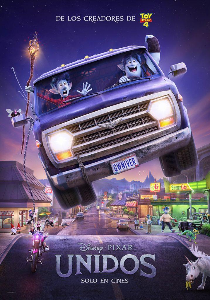 Photo of Disney y Pixar presentan «Unidos» protagonizada por Chris Pratt y Tom Holland