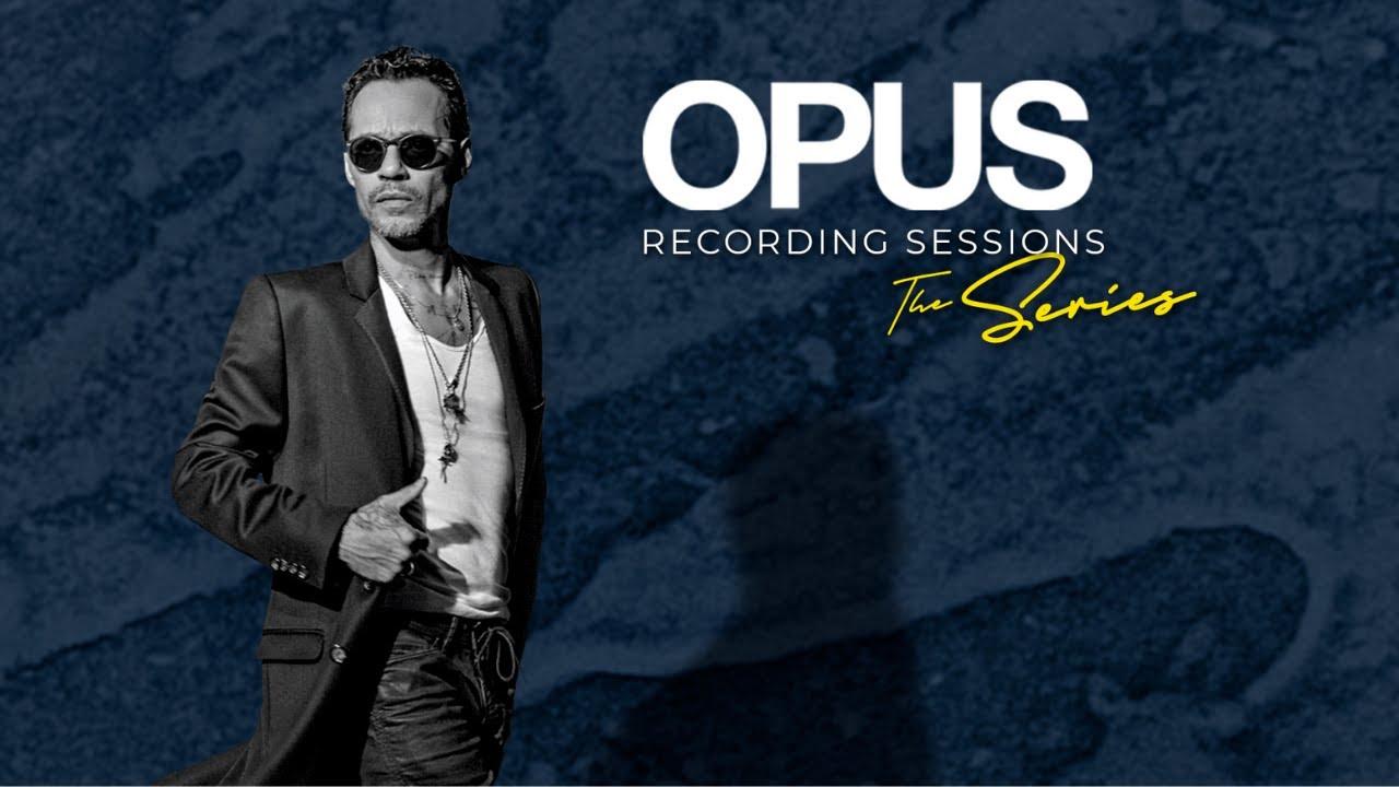 Photo of Marc Anthony estreno 'Sesiones de grabación de OPUS' en YouTube